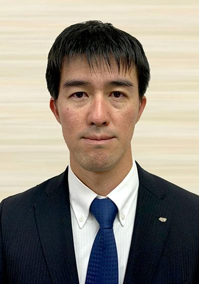 第55代 理事長 馬渡 洋平 近影